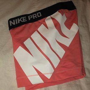 pink nike pros